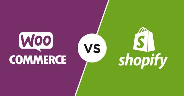 SHOPIFY vs woocommerce ecommerce service